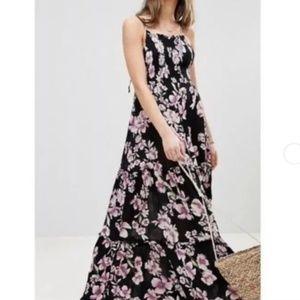 COMING SOON FREE PEOPLE Garden Party Floral Maxi